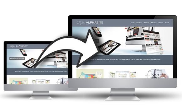 Gratis kopiering af hjemmeside og database