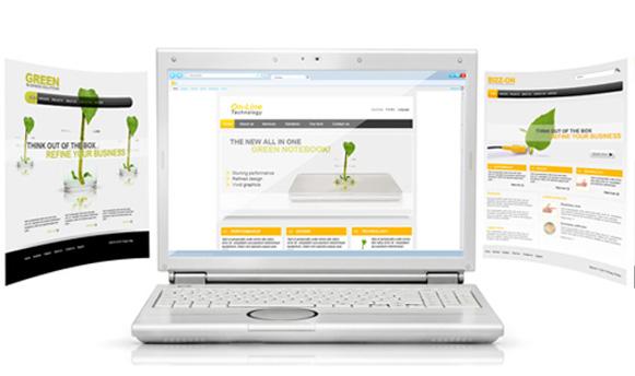 HTML hjemmeside