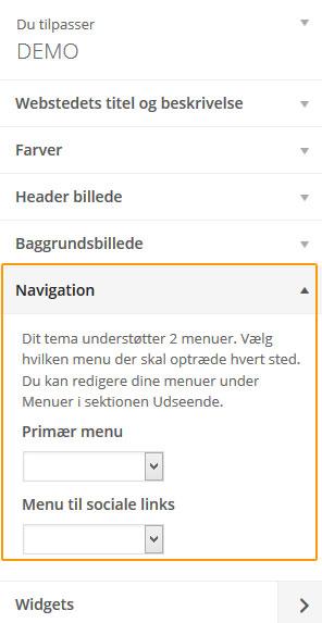 Tilpas layout på WordPress