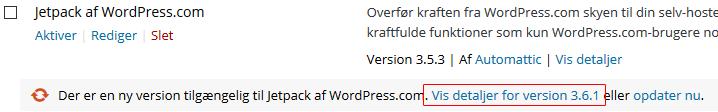 Tjek om plugin er klar til nyeste WordPress version